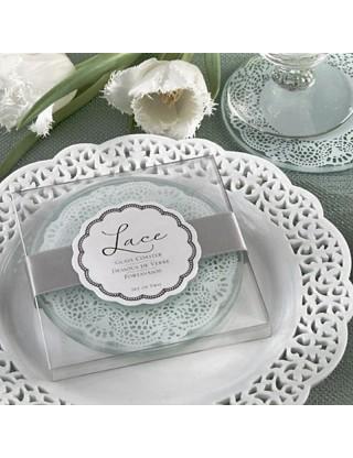 Dessous de verres blanc