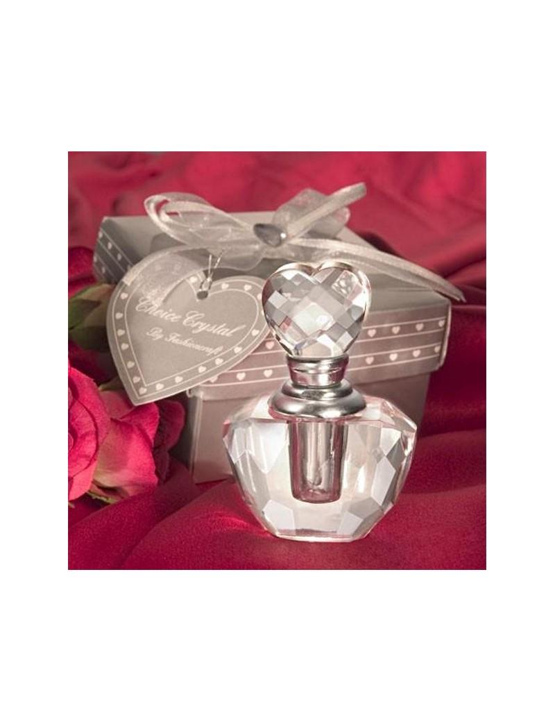 Flacon de parfum coeur