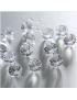 Diamants de table incolores 6 mm