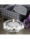 Bougeoir de table diamant
