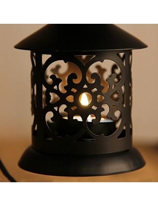 Photophore lanterne orientale noire