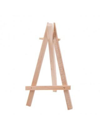Chevalet en bois nature 14 cm