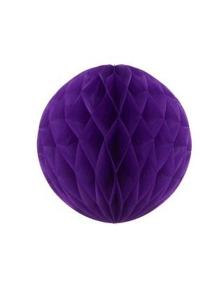 Boules de papier 20 cm violet