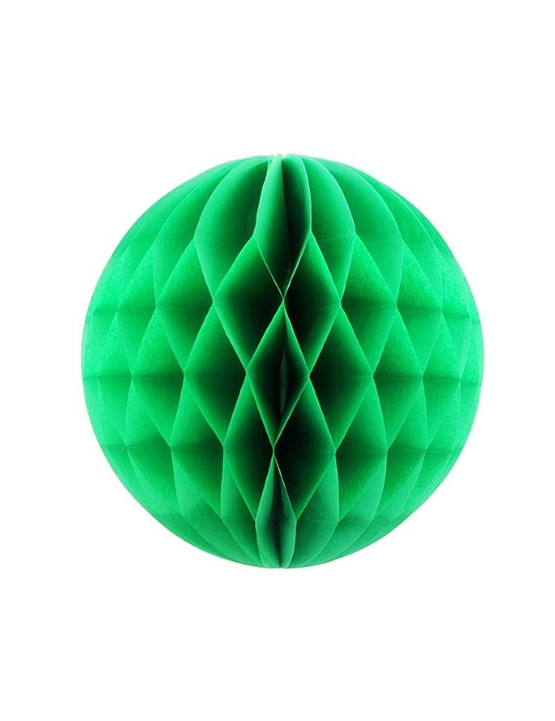 Boules de papier 20 cm vert