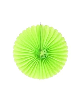 Rosaces en papier 46 cm vert