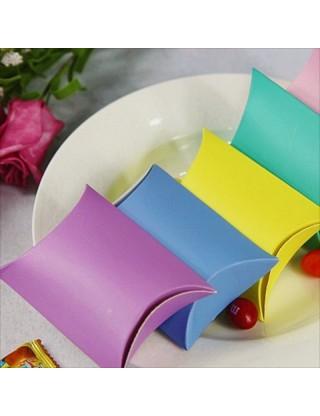 Contenant à dragées boite en carton rose (x10)