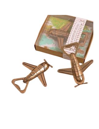 Ouvre-bouteille avion vintage