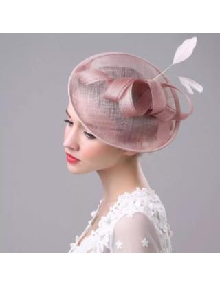 Chapeau bibi - rose poudré design