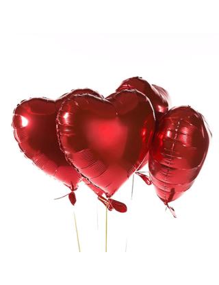 Ballon géant - rouge forme...
