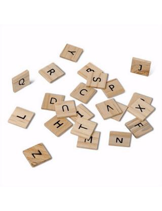 Lettres alphabet en bois...