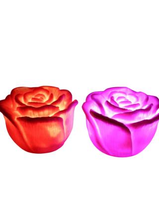 Bougies LED déco - roses de...