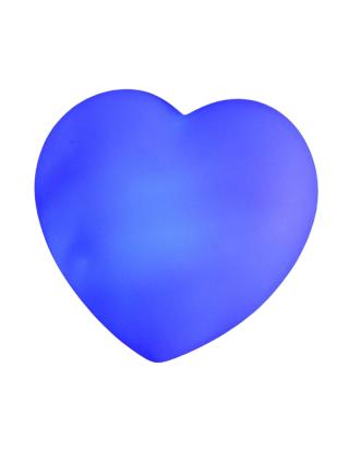 Bougies LED en forme de coeur