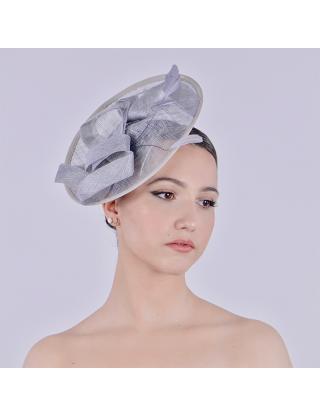 Chapeau bibi - tissu gris...