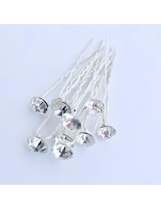 Pic-chignon cristaux de...