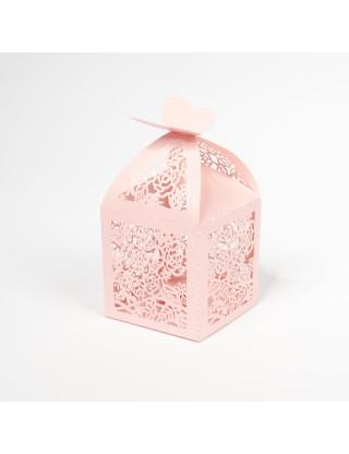 Cage en carton fleurs de...