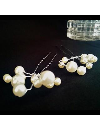 Pic-chignon à perles