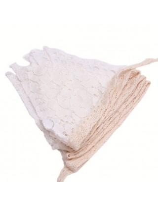 Banderole de fanions aux diverses dentelles
