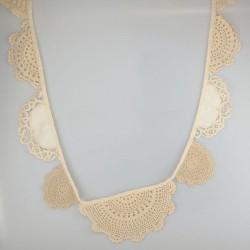 Banderole de napperons au crochet